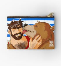 BEAR KISS - SAILOR STRIPES Studio Pouch