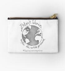 Black Women's Equal Pay Studio Pouch