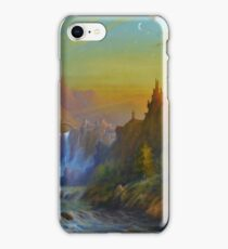 The Citadel Under The Moon. iPhone Case/Skin