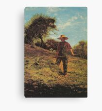 Haymaking 1864 Winslow Homer Canvas Print