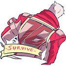 Pastel Soldier76 SURVIVE by Petitecreme
