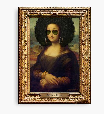 Mona Diva Canvas Print