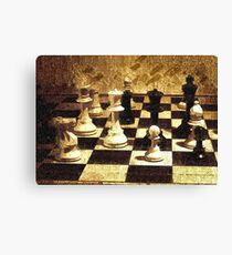 Chess Strategy   Canvas Print