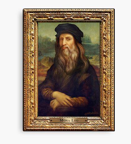 Mona Leo Canvas Print
