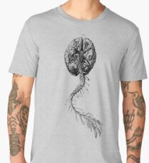 Brain Anatomy Men's Premium T-Shirt