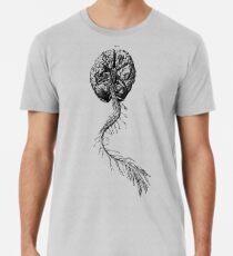 Anatomie des Gehirns Premium T-Shirt