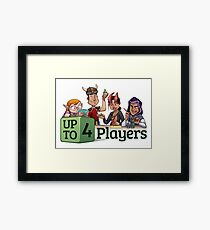 Roleplaying is Awesome Framed Print