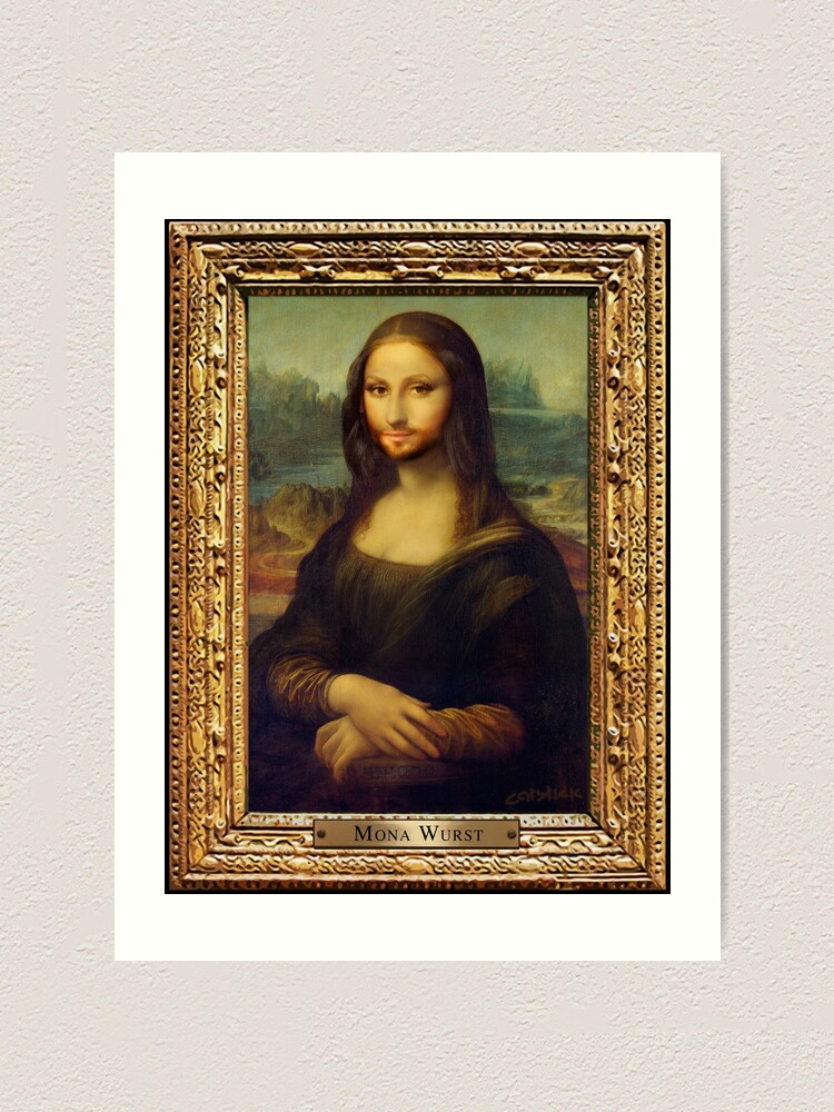 Alternate view of Mona Wurst Art Print