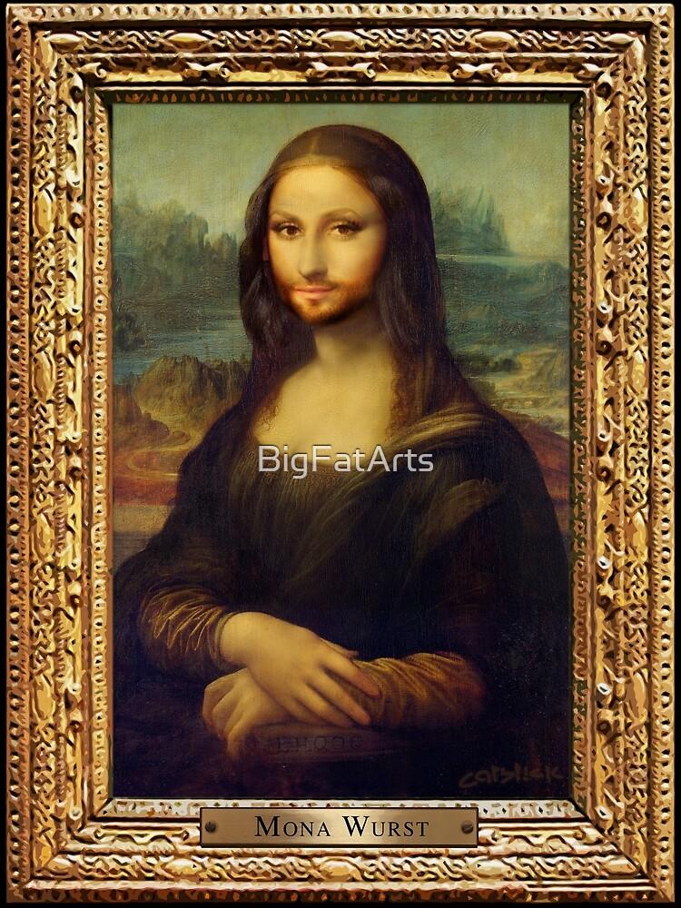 Mona Wurst by BigFatArts