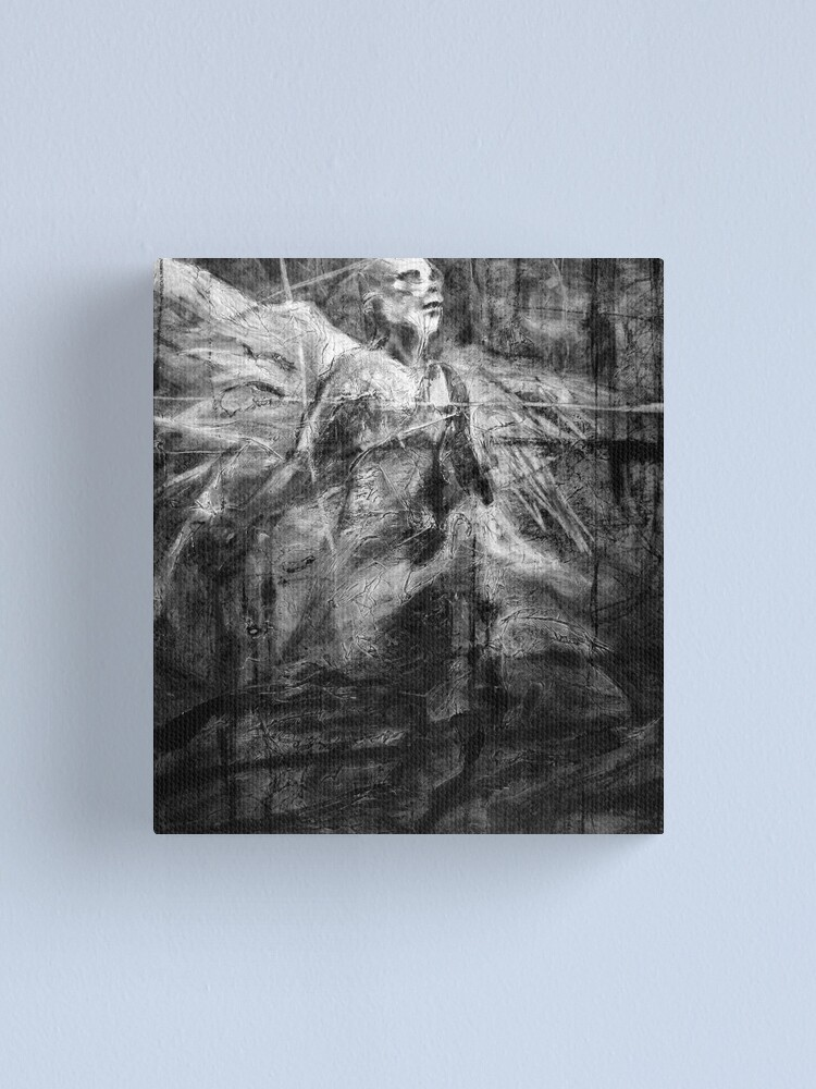 Alternate view of jacob the angel Canvas Print