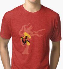 Mega Blaziken Evolution line Tri-blend T-Shirt