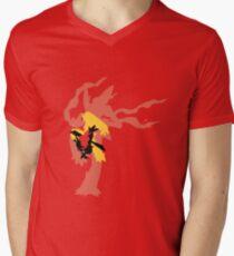 Mega Blaziken Evolution line Mens V-Neck T-Shirt