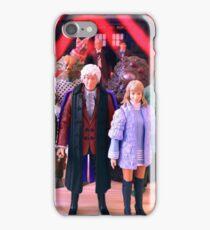 Third Doctor Figures iPhone Case/Skin