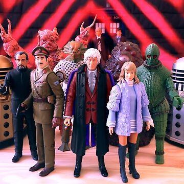 Third Doctor Figures by matepaint