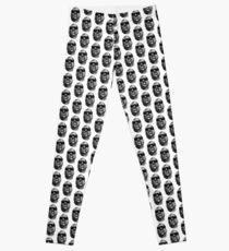 Scribbled Rap Genius Leggings