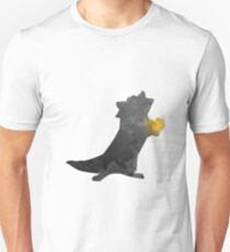 Raccoon Inspired Silhouette T-Shirt