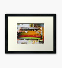 URBAN VISION Framed Print