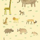 African Animals by Sophie Corrigan