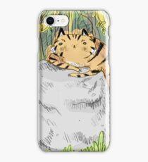 Lazy Tiger iPhone Case/Skin