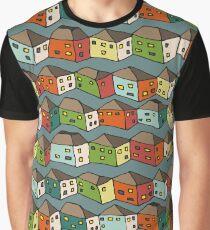 Ceramic houses Graphic T-Shirt