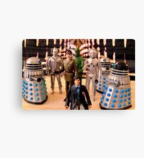 Second Doctor Figures Canvas Print
