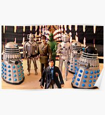Second Doctor Figures Poster