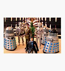 Second Doctor Figures Photographic Print