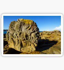 Rock Sculpture,  Palm Beach Sticker