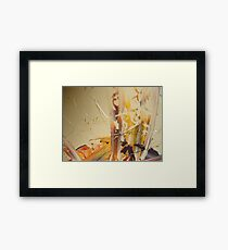 MAKE ME BELIEVE Framed Print