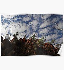 Australian outback scene Poster
