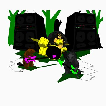 Rock Out With Your Forest Creature Out by Rhom