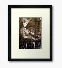 king only Framed Print