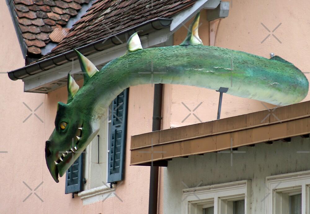 a dragon, where ??? by poupoune