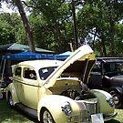 1941 Ford Deluxe 2Dr Sedan by Glenna Walker