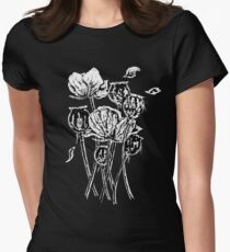 Opium Poppies Women's Fitted T-Shirt