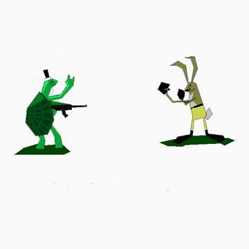 Turtle vs. O'hare by Rhom