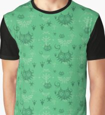 Legend of Zelda Pattern Graphic T-Shirt