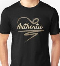 Authentic Typography T-Shirt