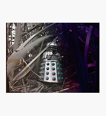 Dalek Jungle Figure Photographic Print