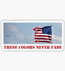 These Colors Never Fade Sticker