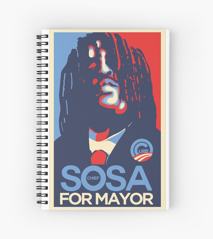 Sosa for president  glogangworldwide by Glogangclothing