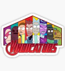 Vindicators Sticker