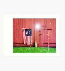 Happy Fourth of July Art Print