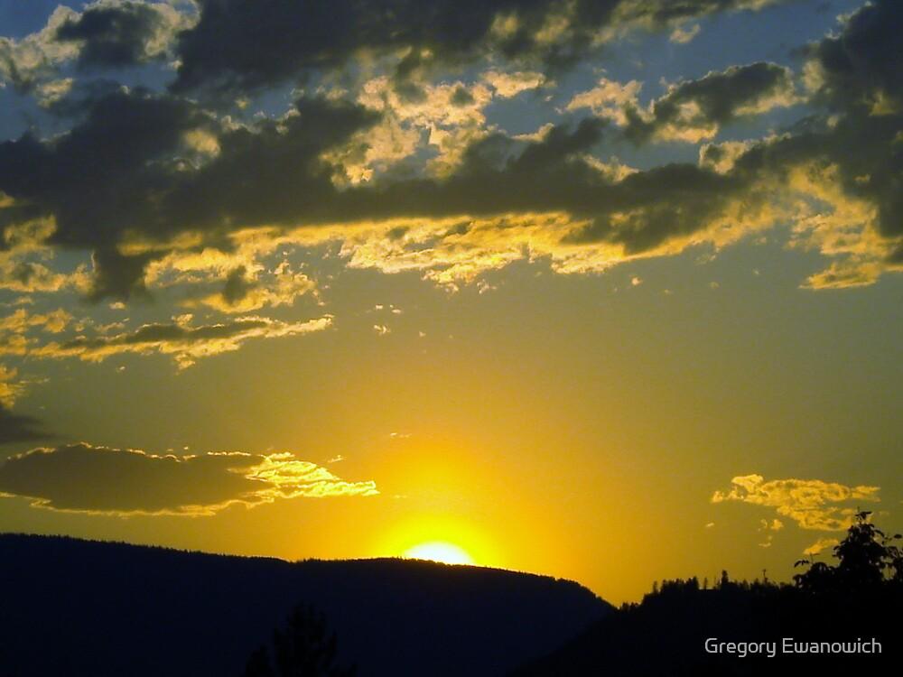 Okanogan Sunset II by Gregory Ewanowich