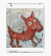 Scotty - Abstract playful fun dog iPad Case/Skin