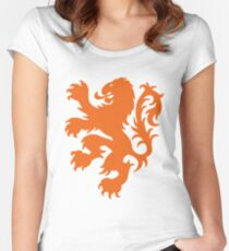 Koningsdag Leeuw 2018 - King's Day Netherlands Celebration Nederland Women's Fitted Scoop T-Shirt