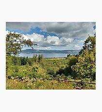 Irish Lake under Irish Sky Photographic Print