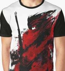 Vincent Valentine Abstract Graphic T-Shirt