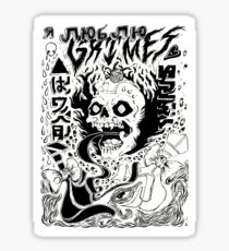 Grimes - Visions Sticker