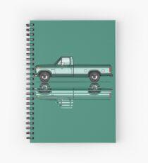 Green 80's Truck Spiral Notebook